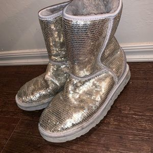 UGG Shoes - Silver UGG's